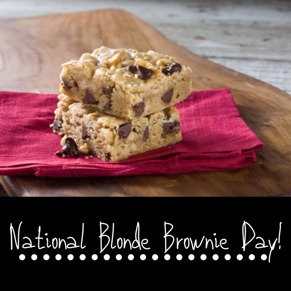 National Blonde Brownie Day Wishes for Instagram