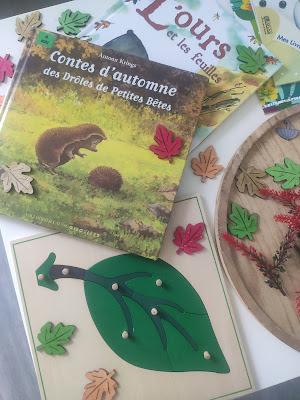 mes filles et moi activités automne maternelle livres