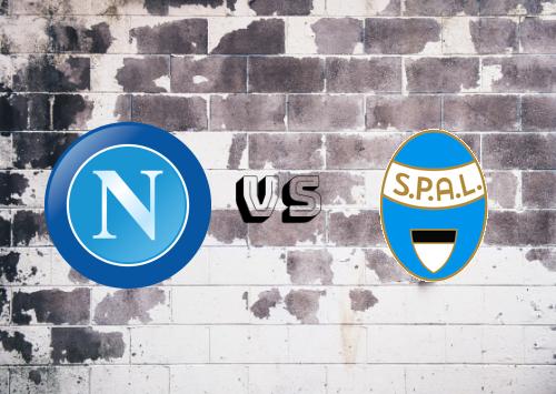 Napoli vs SPAL  Resumen