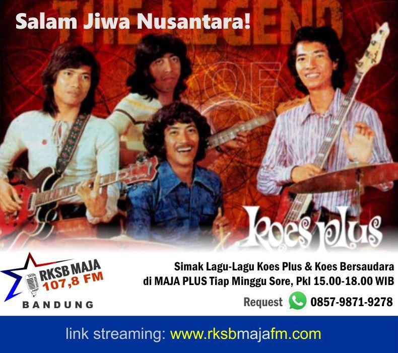 Maja Plus Lagu Koes Plus RKSB Maja FM Bandung