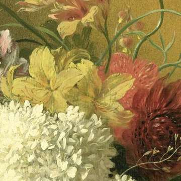 Still Life with Flowers, Georgius Jacobus Johannes van Os, 1820 - 1861 (fragmento)