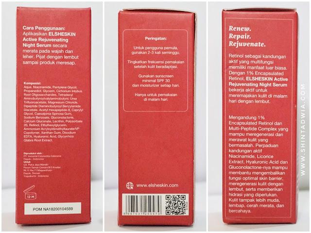 Review elsheskin active rejuvenating night serum