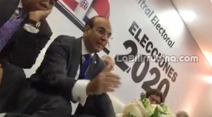 Filtran video donde JCE decide suspender elecciones