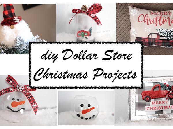 Fun Budget Friendly Dollar Store DIY Christmas Decor Projects