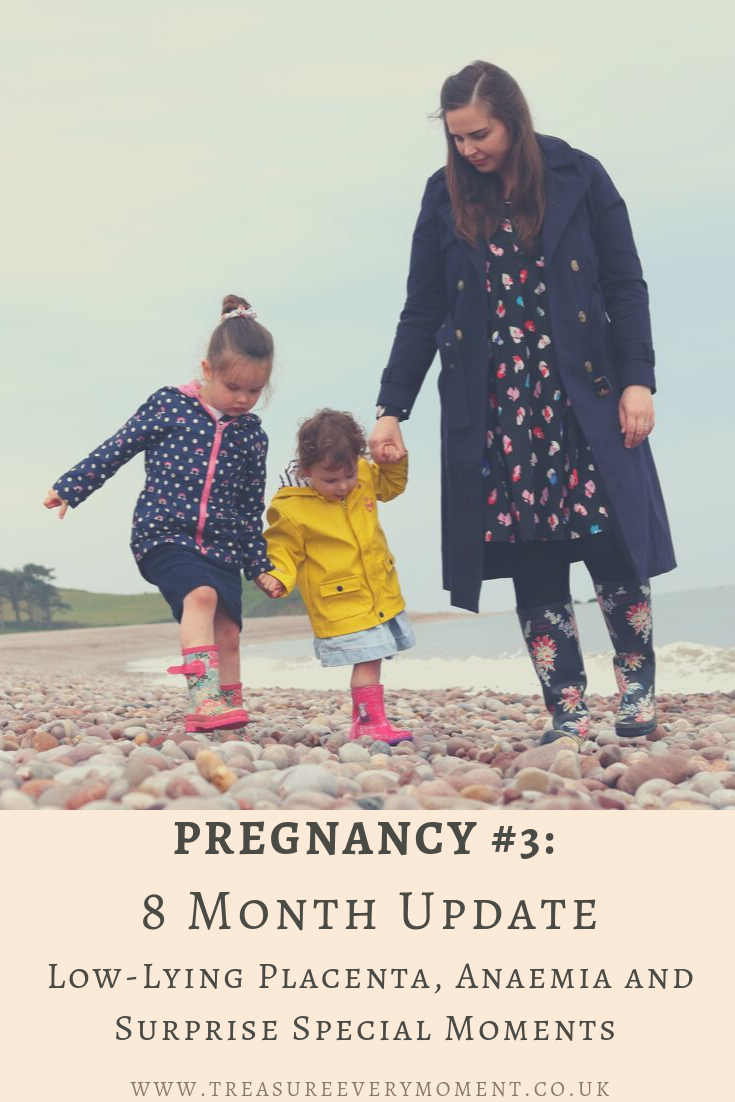 PREGNANCY: 8 Month Update - Low-Lying Placenta, Anaemia and Surprise Special Moments
