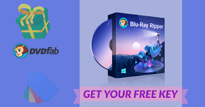 Giveaway: DVDFab Blu-ray Ripper - Free Year License Key