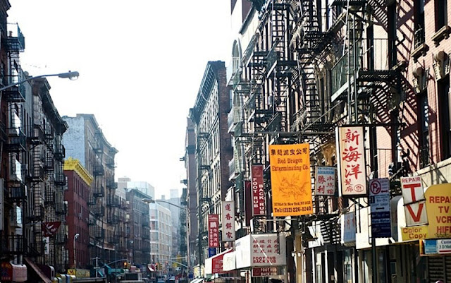 Soho, Chinatown, Little Italy i Greenwich Village