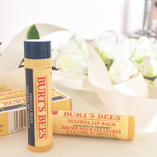 Lip balm review, Burts bees, recommended, natural, vitamin E, review, beauty, skin care, lip care,