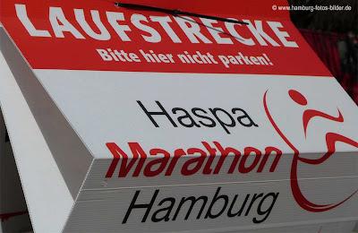 Haspa Marathon Hamburg, Laufstrecke