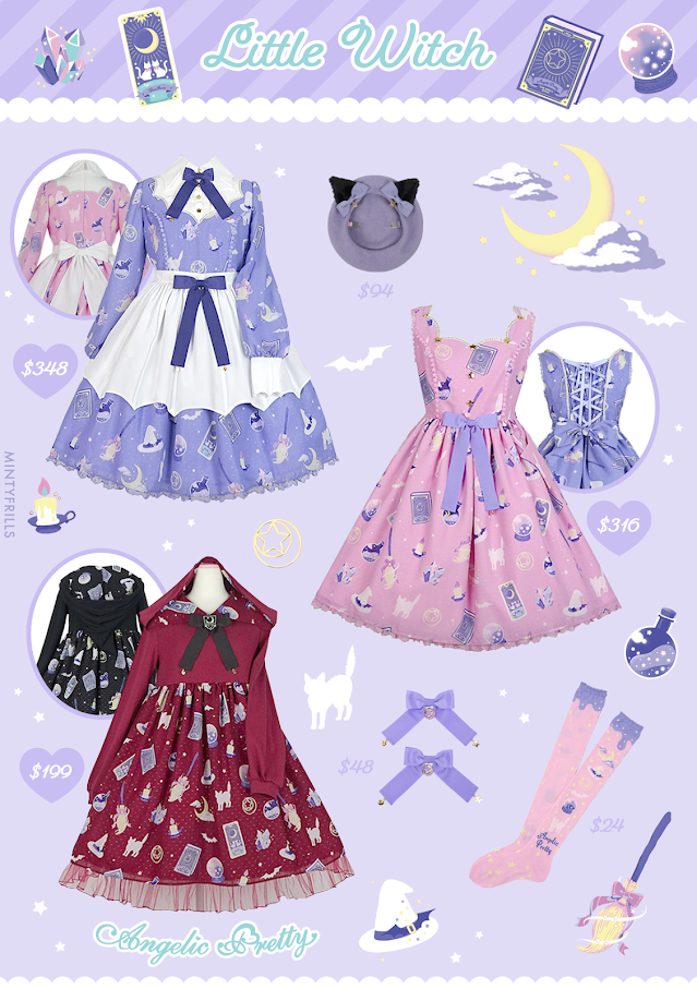 Little Witch Angelic Pretty print series release