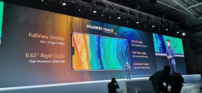 شاشة هاتف HuaweiMate30