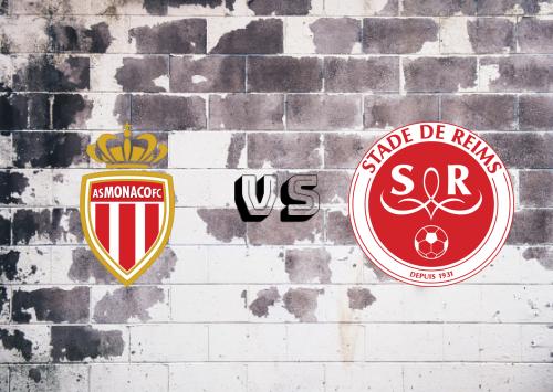 AS Monaco vs Reims  Resumen