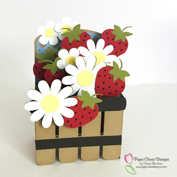 Strawberry Box Card
