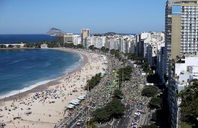 Cidades brasileiras têm protestos por Moro e Lava Jato neste domingo