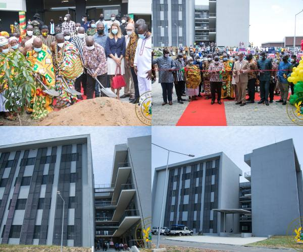 President Akufo-Addo Commissions University Of Environment And Sustainable Development