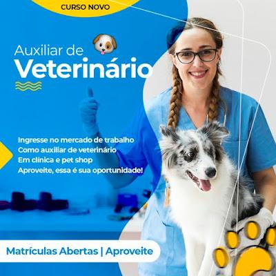 Curso Online Auxiliar de Veterinário