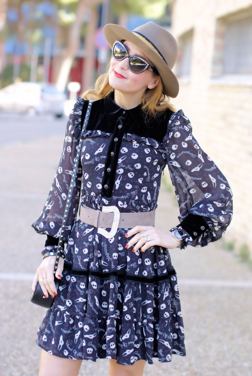 Maggie Sweet dress, Zadig et Voltaire dress on Fashion and Cookies fashion blog, fashion blogger style