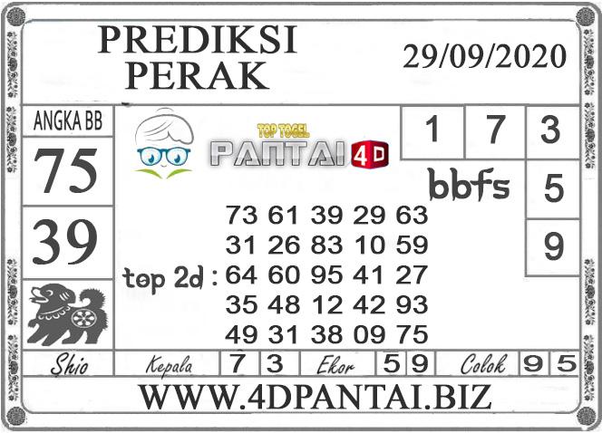 PREDIKSI TOGEL PERAK PANTAI4D 29 SEPTEMBER 2020