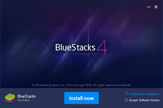 BlueStacks emulator onto your PC