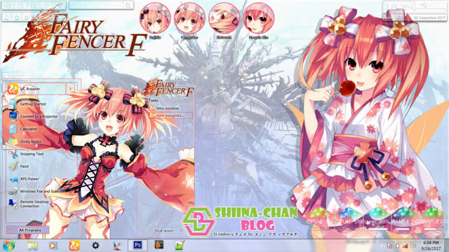 Fairy Fencer F - アリン (Alyn) Theme Win 7 by Enji Riz Lazuardi