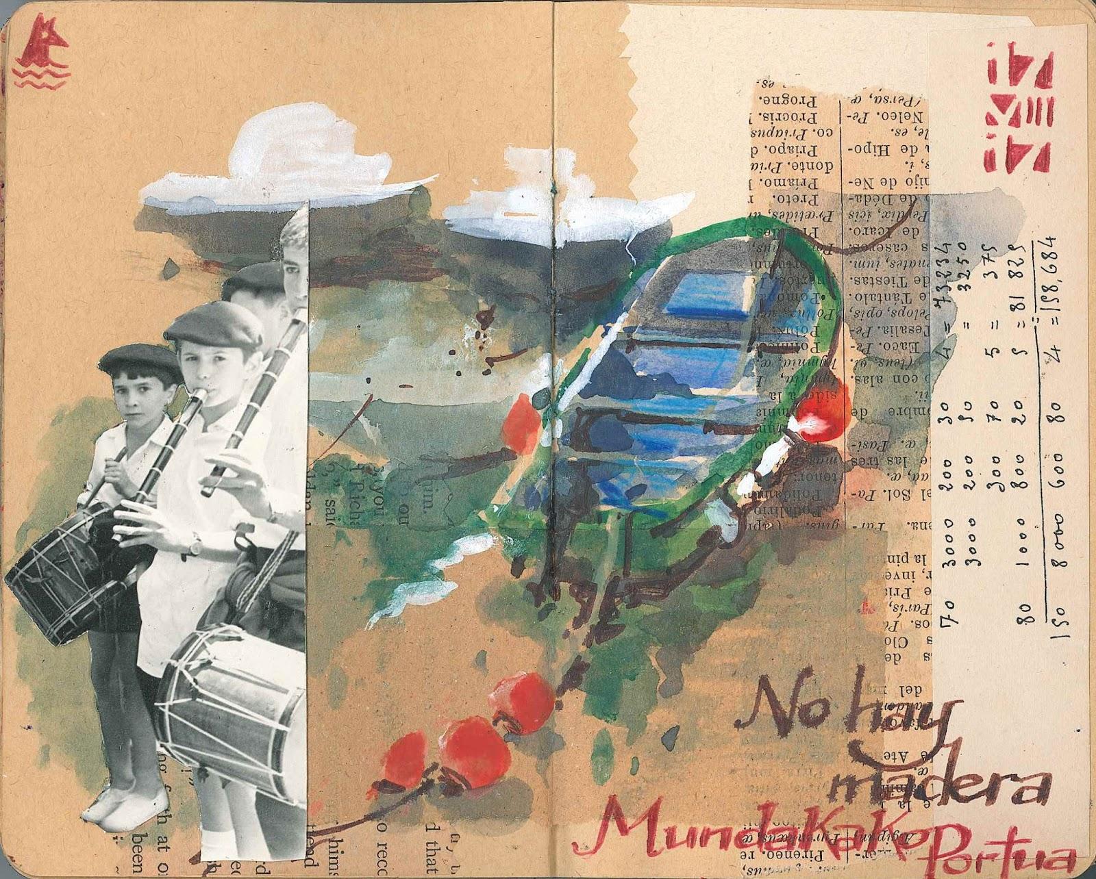 de vuelta con el cuaderno: VERANO INDIO