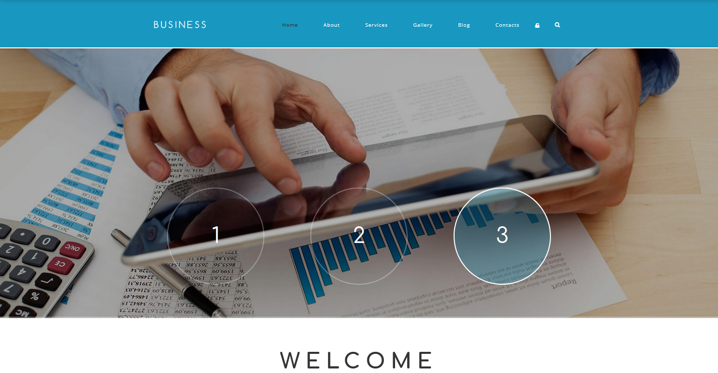 Business Associate Drupal Template