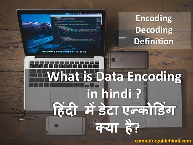 Encoding in hindi