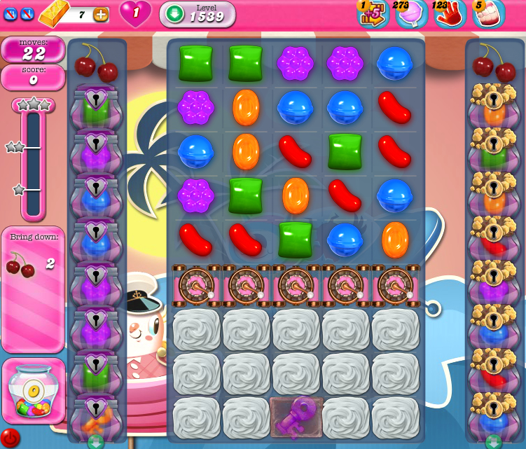 Candy Crush Saga 1539