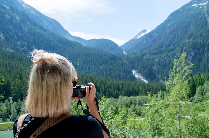 Foto von Krimmler Wasserfälle Sonja Bruckner