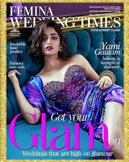Yami Gautam Femina Wedding Times Photo Shoot Stills, Yami Gautam Latest Photos!