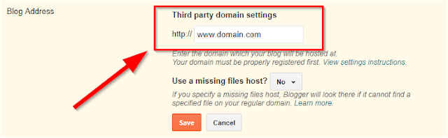 Third-party-domain-setting-in-blogger