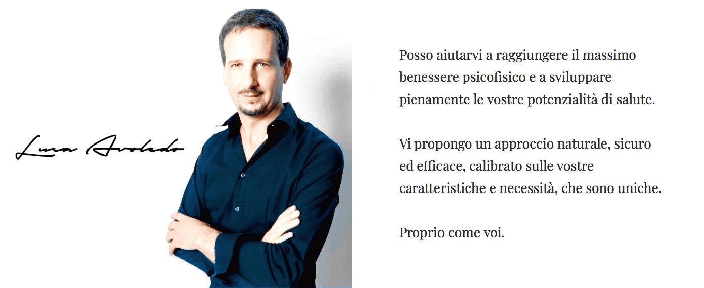 Luca Avoledo naturopata nutrizionista