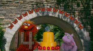 Murray and Ovejita, 14 butterflies, the number of day 14, Sesame Street Episode 4318 Build a Better Basket season 43