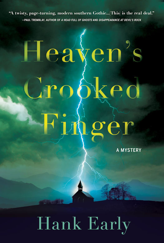 Cover Revealed - Heaven's Crooked Finger by Hank Early