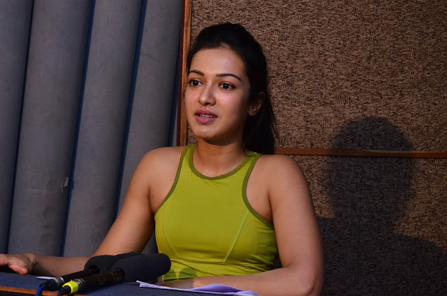 Catherine Tresa Self Dubbing for Gautham Nanda Pics