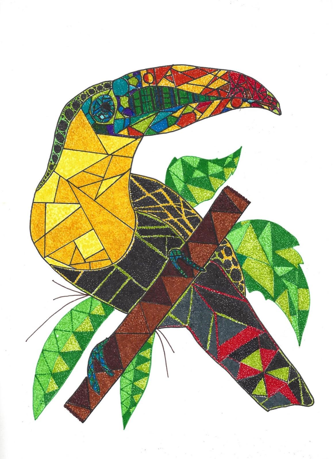 Kuiloa Blog de Dibujo : Geometrización en el Dibujo (2)