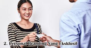 Merupakan Personal Branding Yang Eksklusif adalah fungsi kartu nama yang wajib kamu ketahui