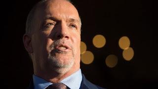 BC NDP Premier John Horgan
