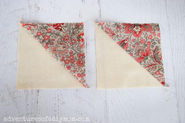 two half square triangles