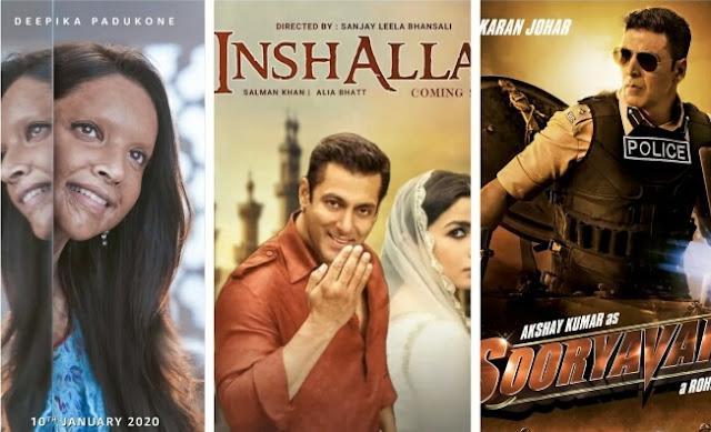 Bollywood Upcoming Movies 2020 Big Budget Movie