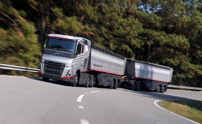 Conheça em detalhes o inédito Volvo Efficiency Concept Truck