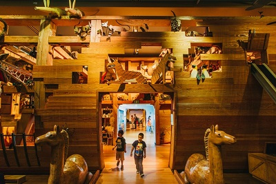 Noah's Ark exhibit