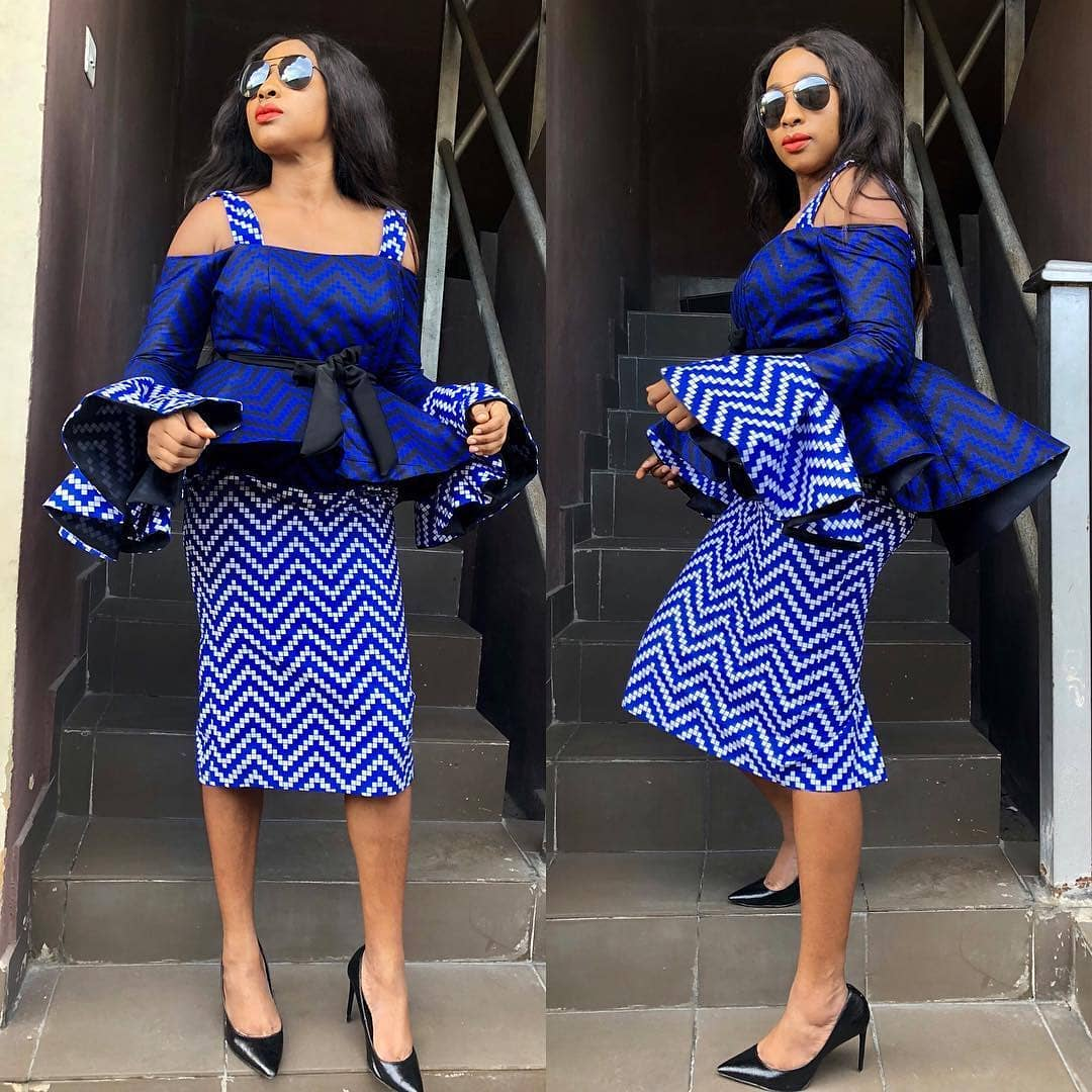 Image result for LATEST AFRICAN PRINT STYLES