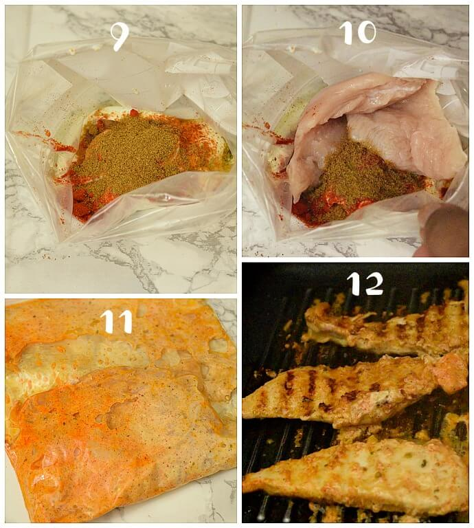 how to make greek grilled chicken