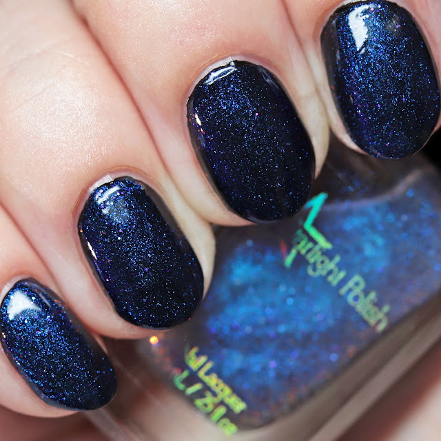 Starlight Polish Phantom Wishes over black