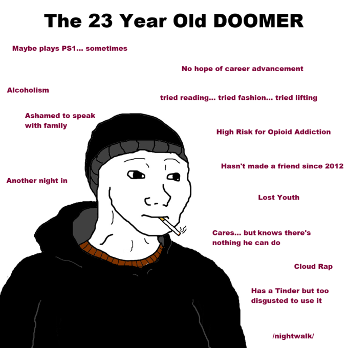 Subject Object The Doomer Meme A Case Study By Someone Too Old