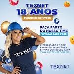 TEXNET abre 18 vagas de emprego em Fortaleza