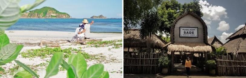 Tour Hari Pertama Paket Honeymoon Lombok