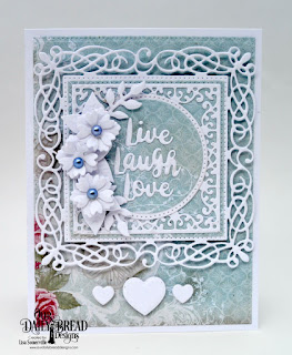 Our Daily Bread Designs Custom Dies: Inspiration Words, Lacey Corners, Flourishy Frame, Pierced Rectangles, Pierced Circles, Circles, Pierced Squares, Bitty Blossoms, Cups & Mugs, Mini Cups & Mugs, Paper Collection: Romantic Roses