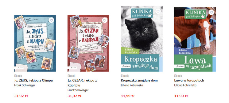 Papilon, e-booki